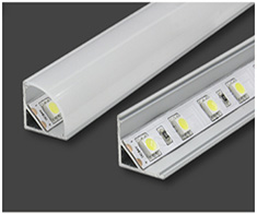 Corner LED Strip Channels