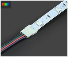 10mm RGB LED Strip Connectors