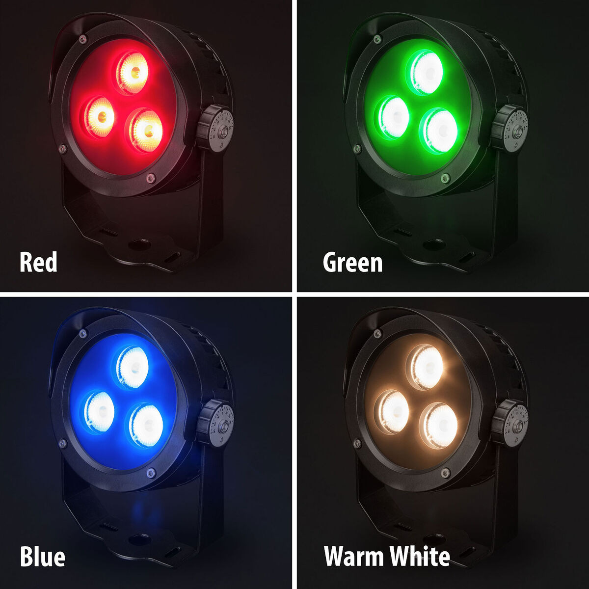 Beamer RGB + Warm White Dimmable LED Landscaping 12W Light - Beamer RGB + Warm White Dimmable LED Landscaping Flood 12W Light