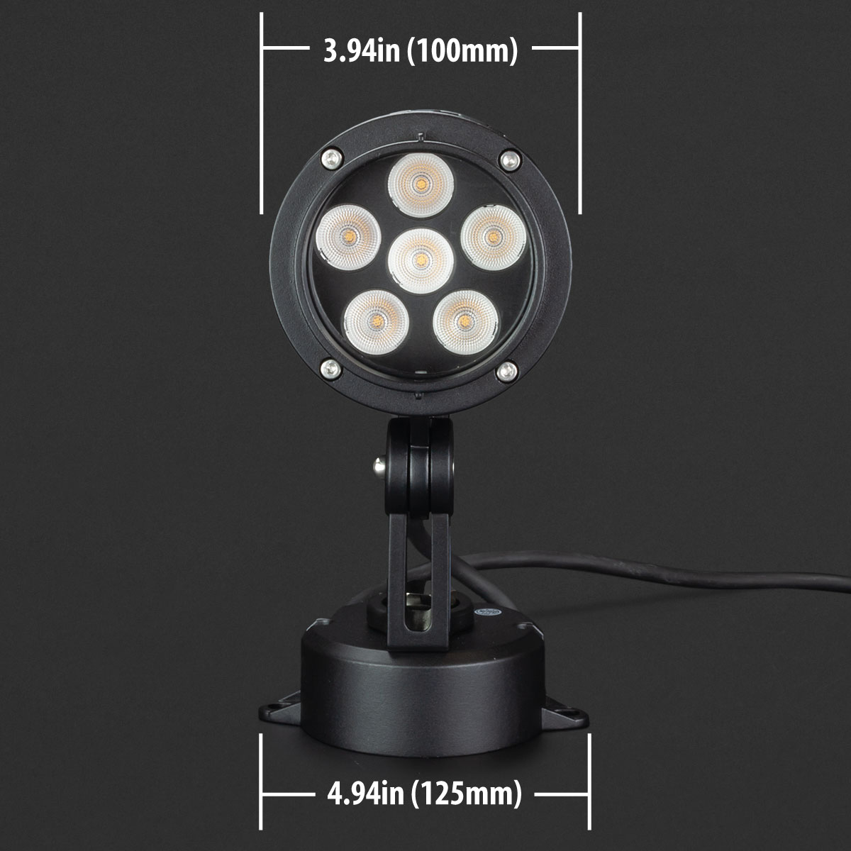 CricketPro RGB Dimmable LED Landscaping Light 10W - CricketPro RGB Dimmable LED Landscaping Light