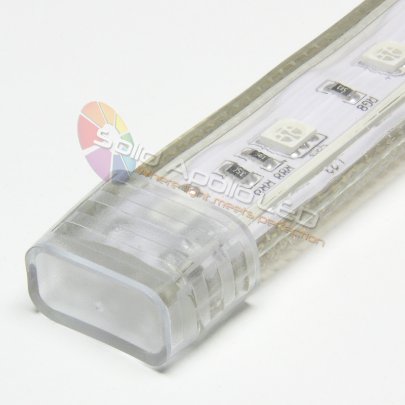 Silicone End Cap For Driverless Rgb Led Strip