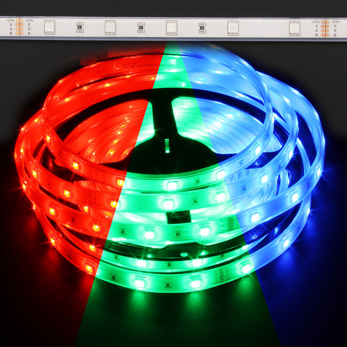12v Waterproof Color Changing Rgb Led Strip