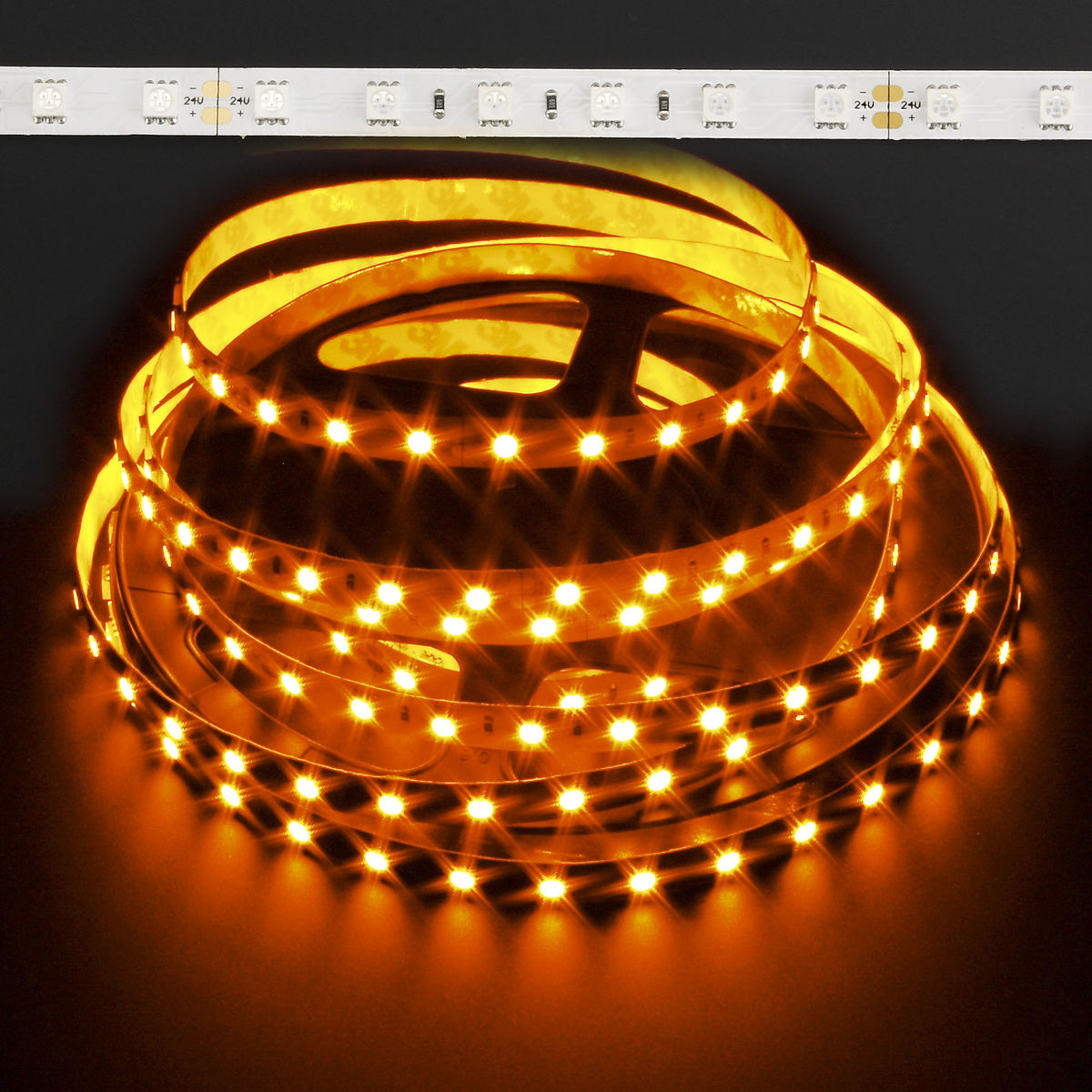 Amber 5050 72w Led Strip Light