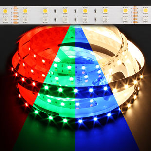 ColorPro RGB + Warm White 120W LED Strip