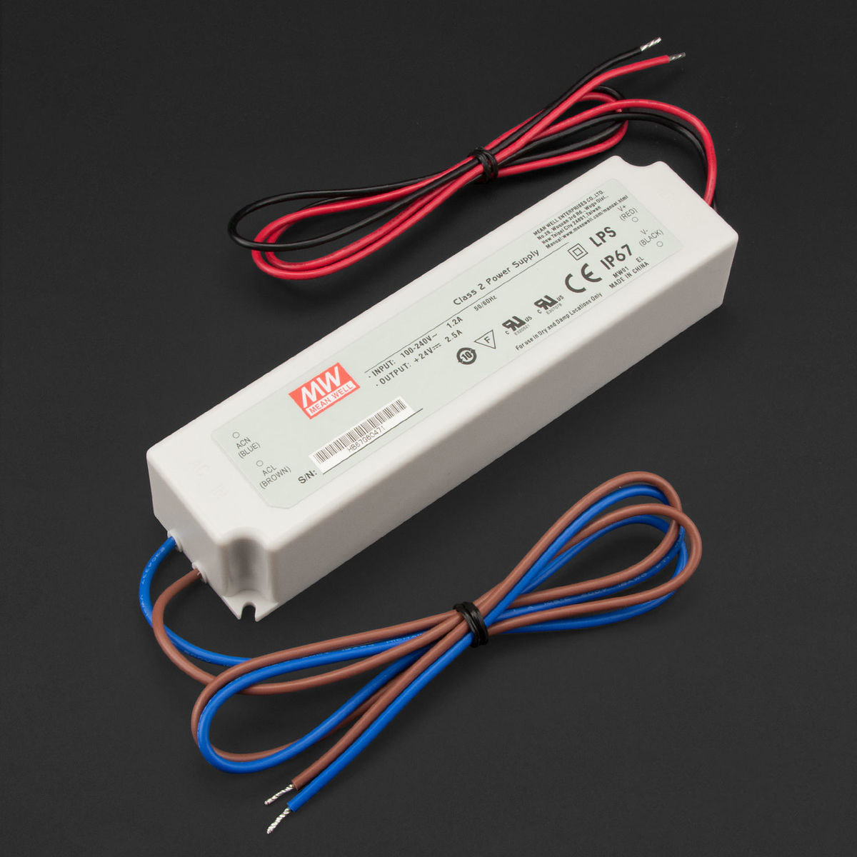 Hard Wired Led Power Supply 24v Dc 60w