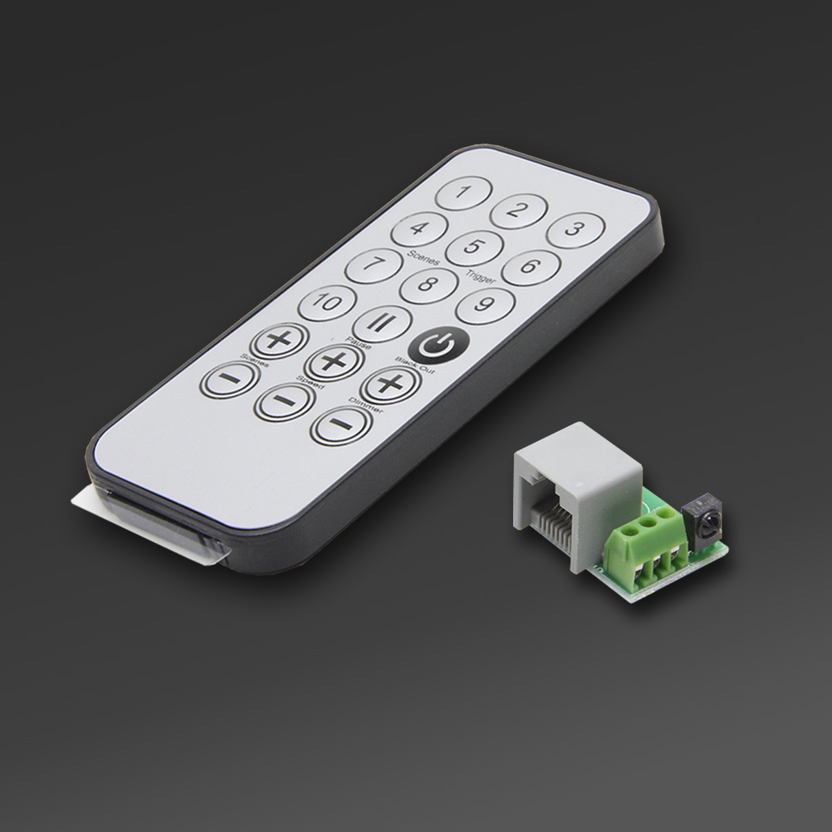 Ledmotion Stand Alone Remote Control And Ir Receiver