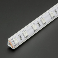 "39"" Clear Corner PMMA LED Strip Channel"