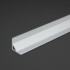 "39"" Corner Aluminum LED Strip Channel"