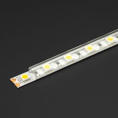 "78"" Clear LED Strip Diffuser/Cover"