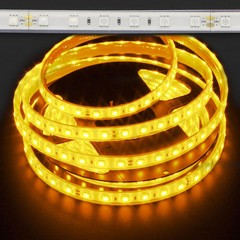 Amber Waterproof 5050 72W LED Strip Light