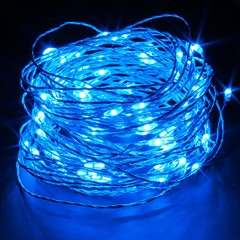 Blue LED String Light 65ft