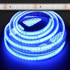 Blue Waterproof Eco 3528 48W LED Strip Light