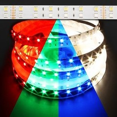 ColorPro RGB + Daylight White 120W LED Strip Light