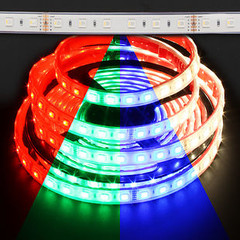 Waterproof Color Changing RGB + Warm White Quadchip 5050 72W LED Strip