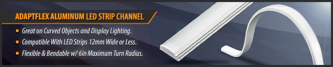 Solid Apollo LED FLexible LED Strip Channels