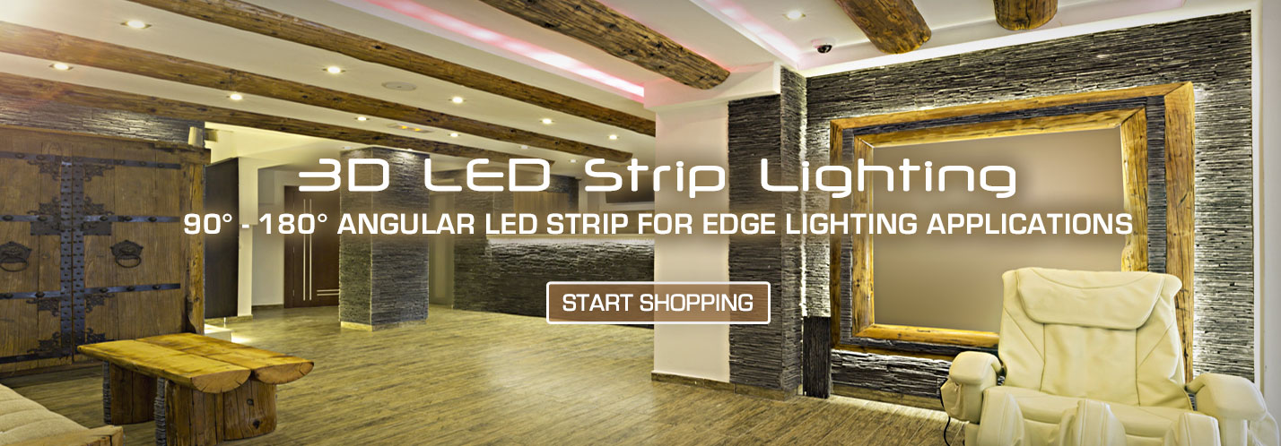 Solid Apollo 3D LED Strip Lights