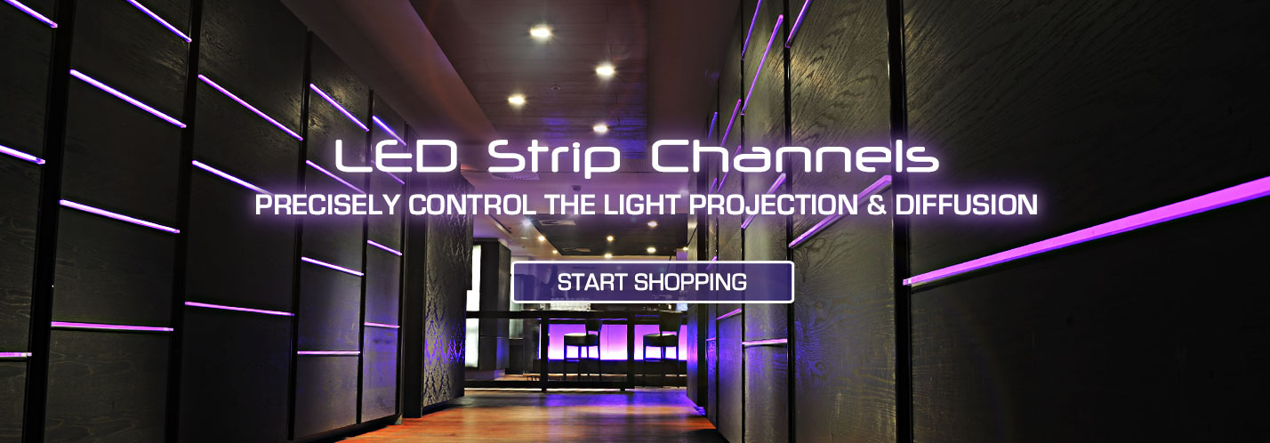Solid Apollo LED Strip Channels