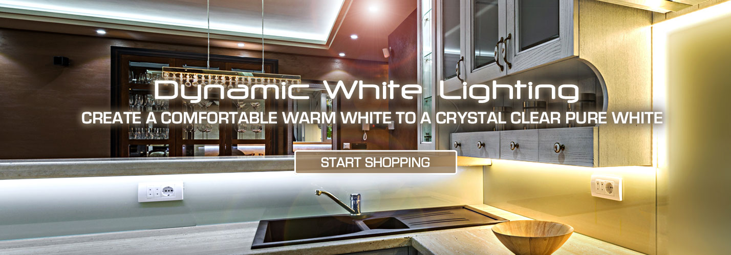 Solid Apollo LED Dynamic White LED Strip Lights