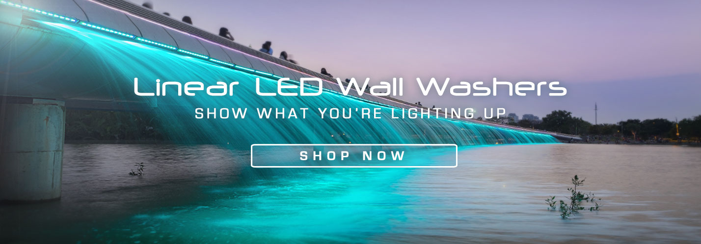 Solid Apollo LED Linear Wall Washers