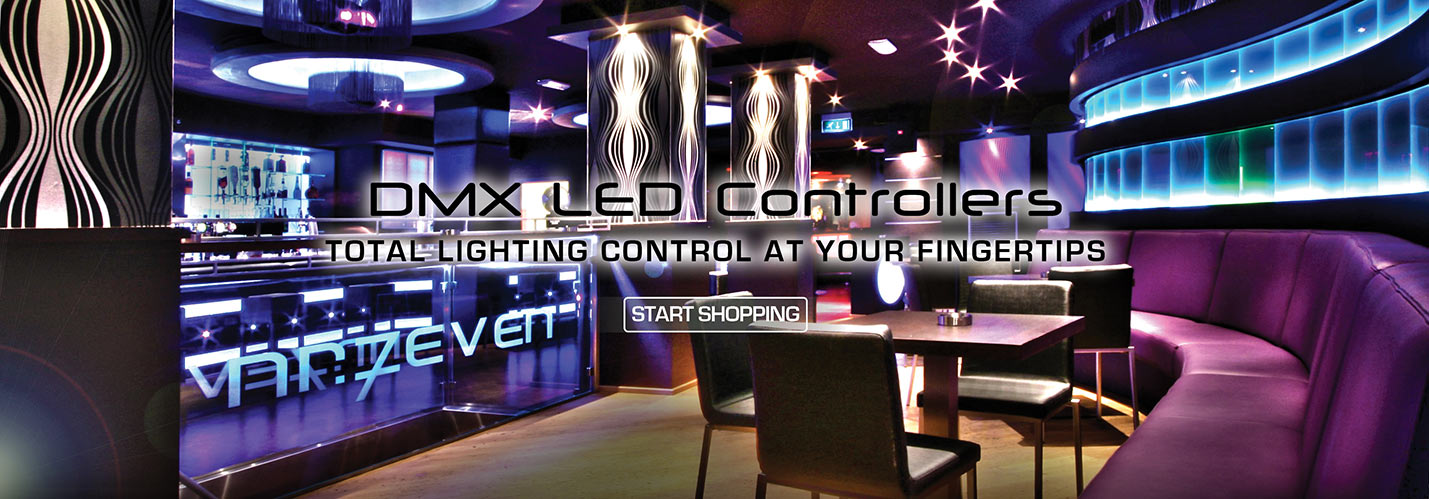 Solid Apollo LED DMX LED Controllers