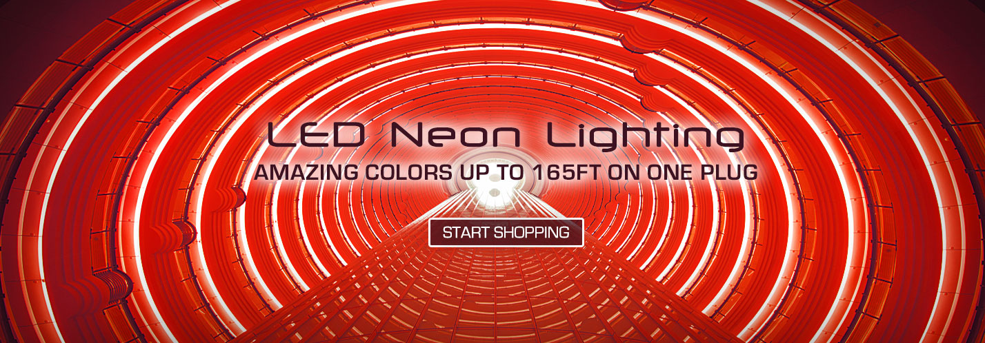 Solid Apollo Neon LED Strip Lights