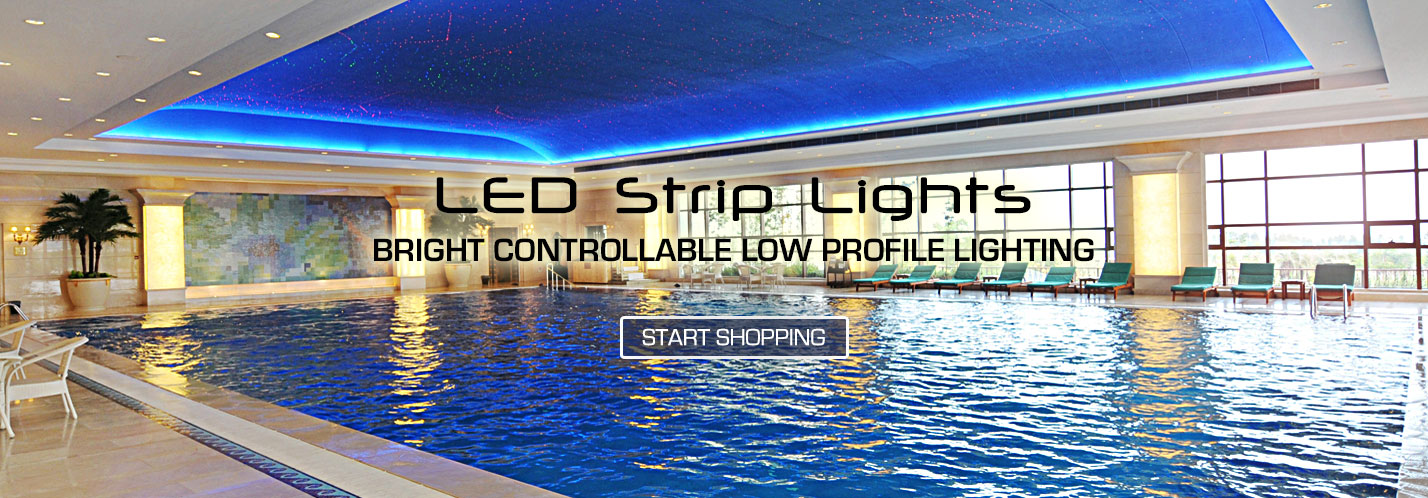Solid Apollo LED Strip Lights