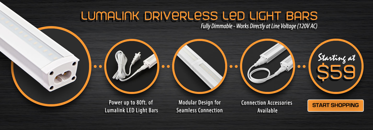 Solid Apollo LED Lumalink Driverless LED Light Bars