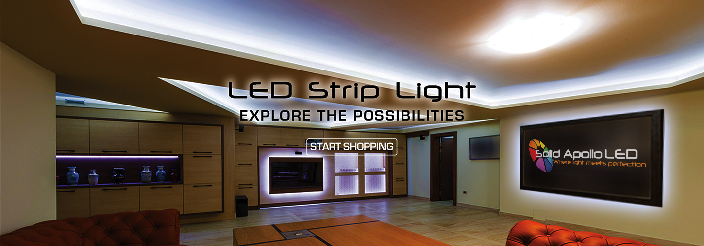 Solid Apollo LED Strip Light